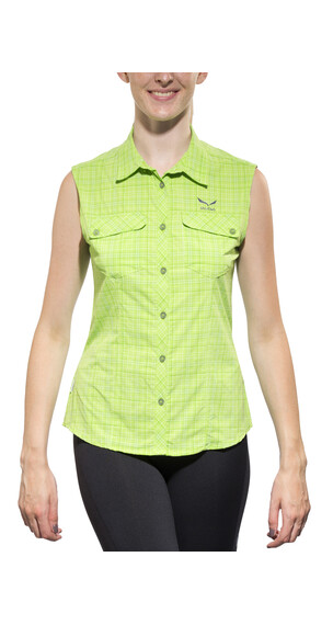 Salewa Kyst 2.0 Sleeveless Shirt Women Dry M talut emerald